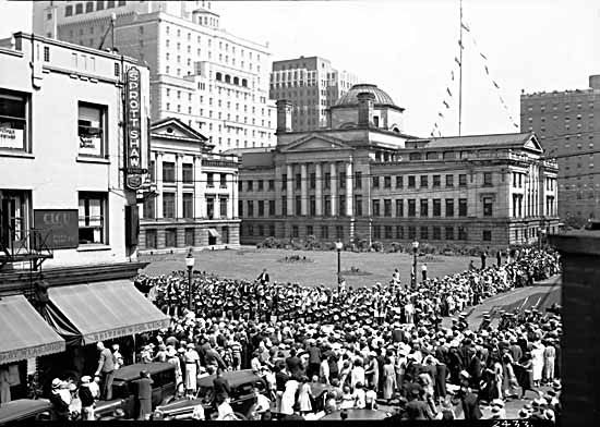 1930's Robson Square