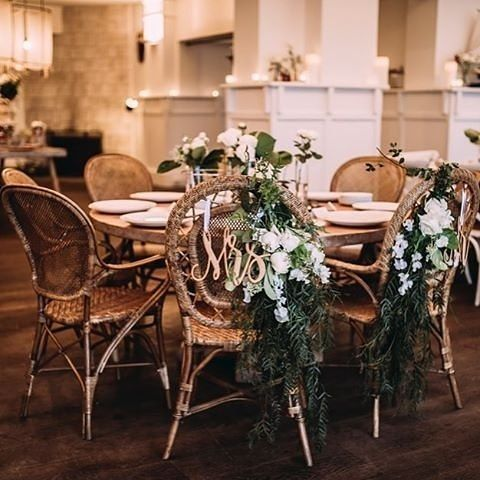 Wedding styling at Watsons Bay Boutique hotel