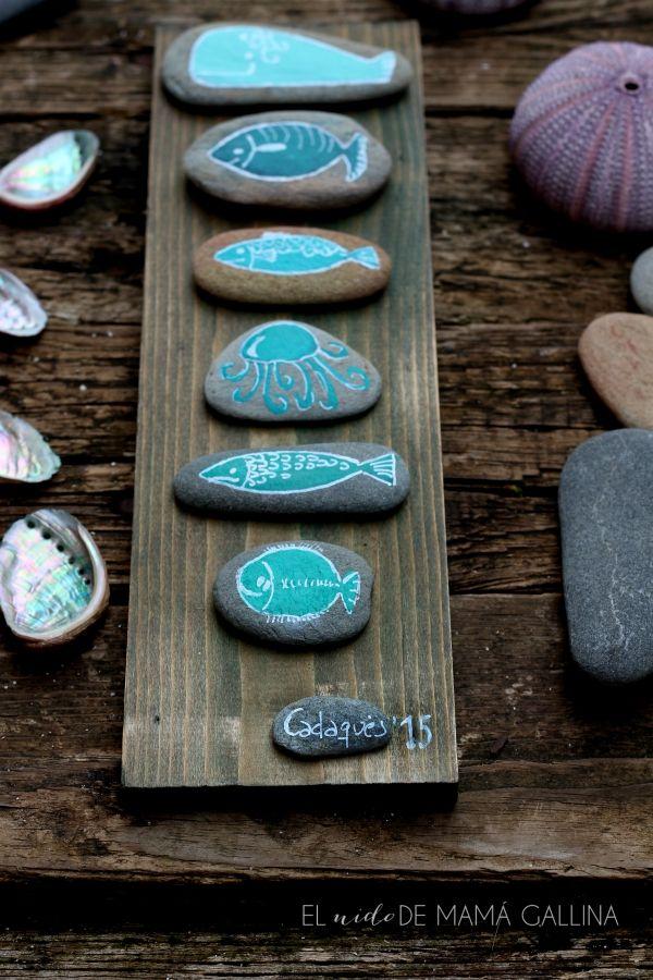 Cómo unas pocas piedras pueden convertirse en un original cuadro