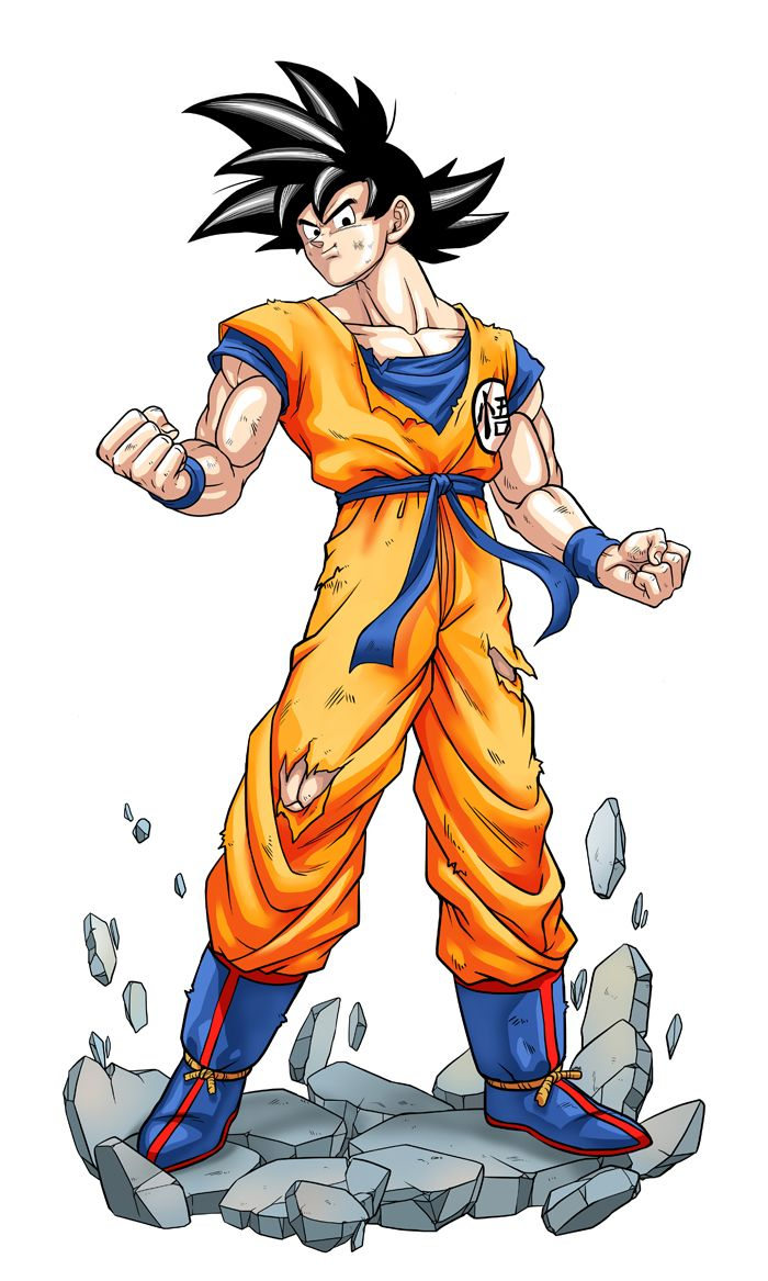 Son goku by ume anime pinterest son goku goku and - Dragon ball z goku son ...