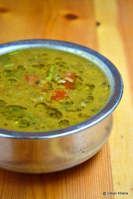 Hara Moong Dal Tadka Fry