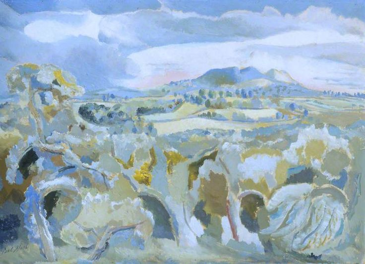 Landscape of the Malvern Distance (1943) by Paul Nash