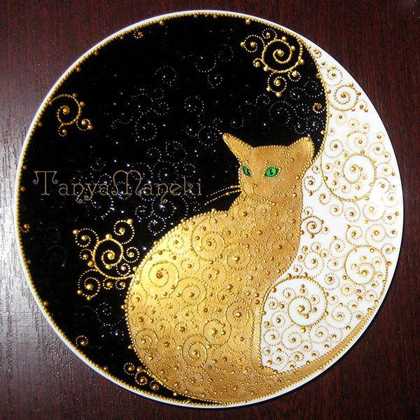 Роспись посуды - Art by Tanya Maneki