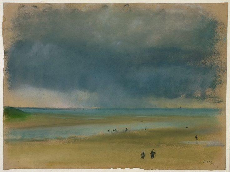 Beside the SeaARTIST:Edgar DegasDATE:1869    The MinneapolisInstituteof arts
