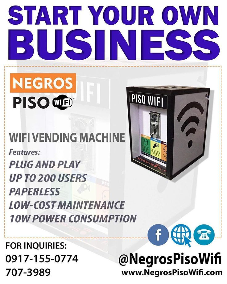 Piso Wifi Business in the Philippines Wifi, Starting