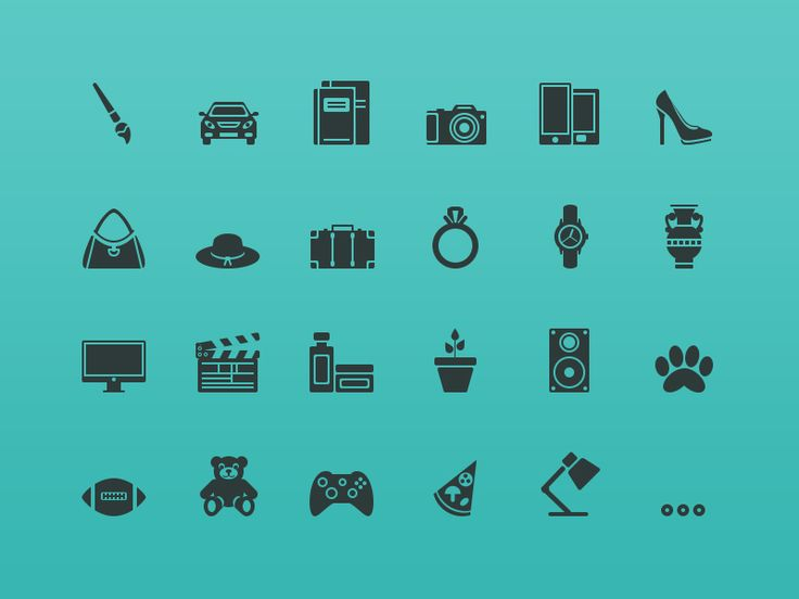 64px Icons by Alla Sheptulya