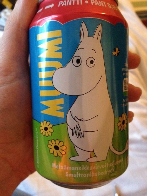 Moomin soda?!