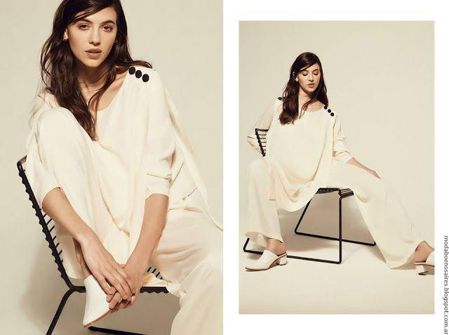 Moda y estilo minimalista casual chic en el invierno de la marca argentina Justa Petra.