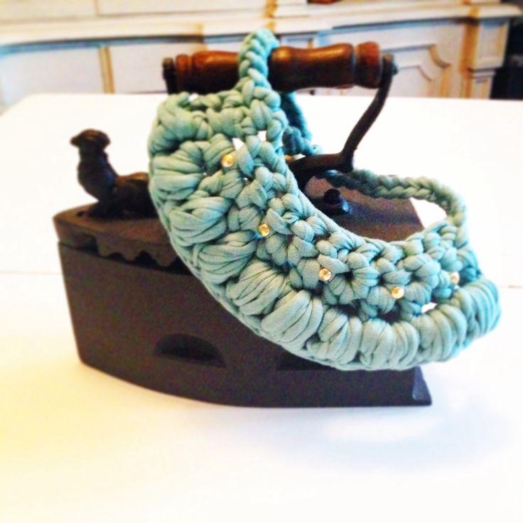 Collar trapillo, handmade Las cositas de Palolu