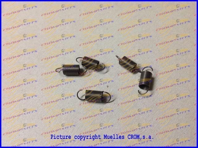 Muelle tracci n tension springs muelles de tracci n - Muelles de traccion ...