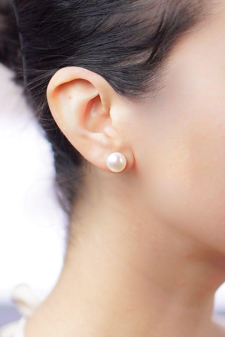 Best 25+ Real pearl earrings ideas on Pinterest