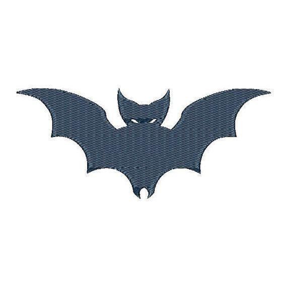 Bat - Machine Embroidery Design - Instant Download - Three sizes