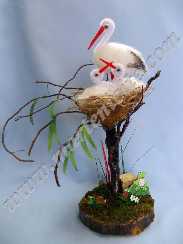gólyák fészekben