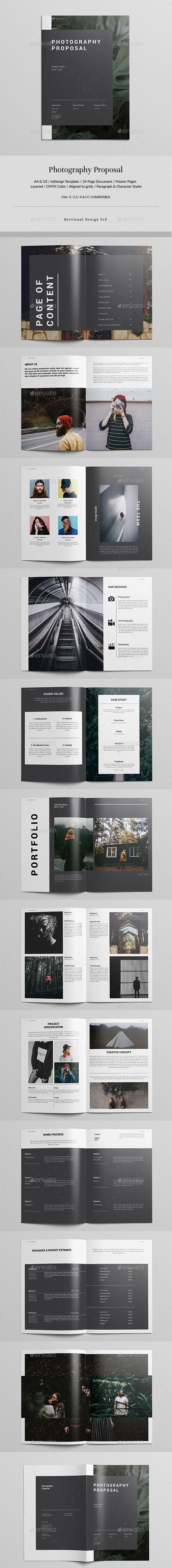 #Photography #Proposal - Corporate #Brochures Download here: https://graphicriver.net/item/photography-proposal/19965385?ref=alena994