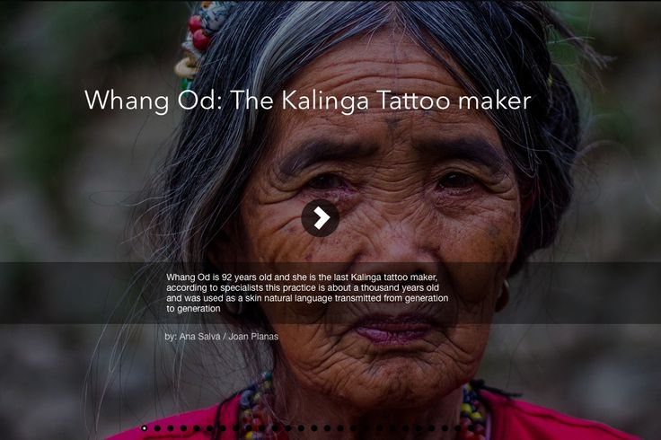 The Last Kalinga Tattoo Maker