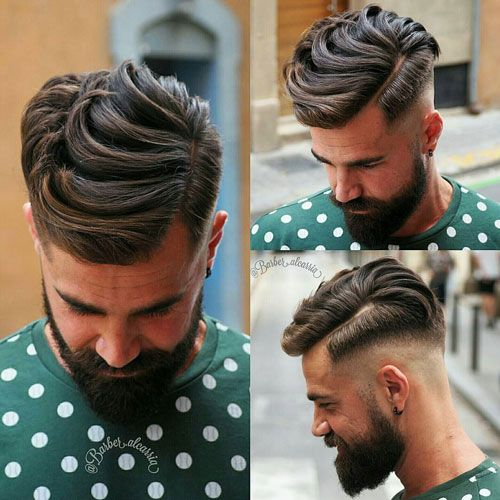 Classic Men's Hairstyles - High Fade with Side Part