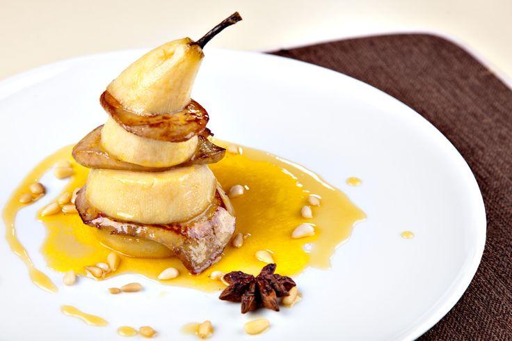 Recette : Foie gras poêlé aux Poires - Paléo Régime