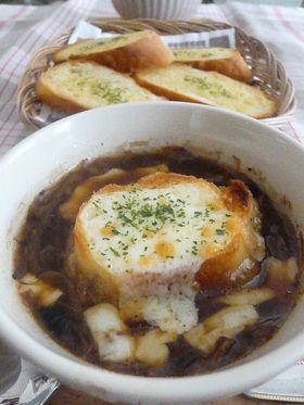 お店の味☆オニオングラタンスープ