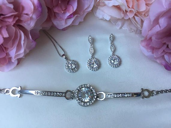 Wedding accessories bridal accessories bridal jewellery set