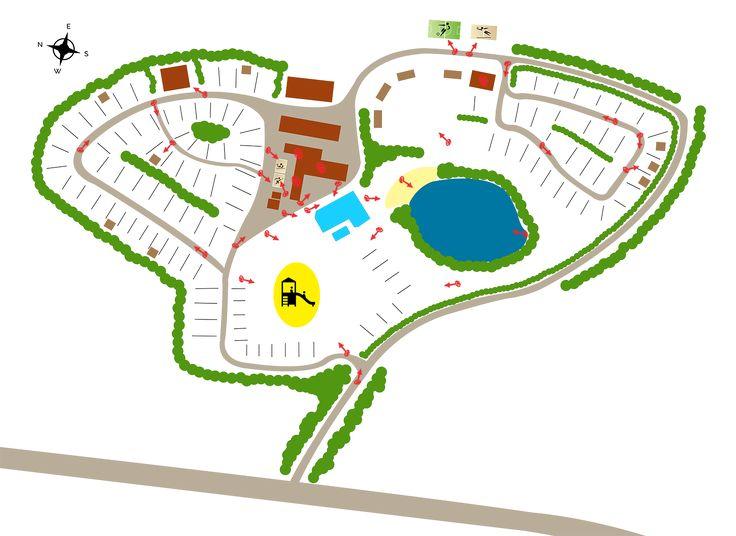 Klik op de rode pijl zodat er een foto verschijnt van die lokatie.