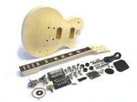 E-Gitarren-Bausatz MLP Flamed Maple Top, Hals geschraubt