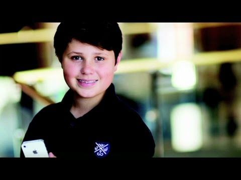 cnn 39 s erin burnett talks to charley hutchison who is one of apple 39 s youngest developers for
