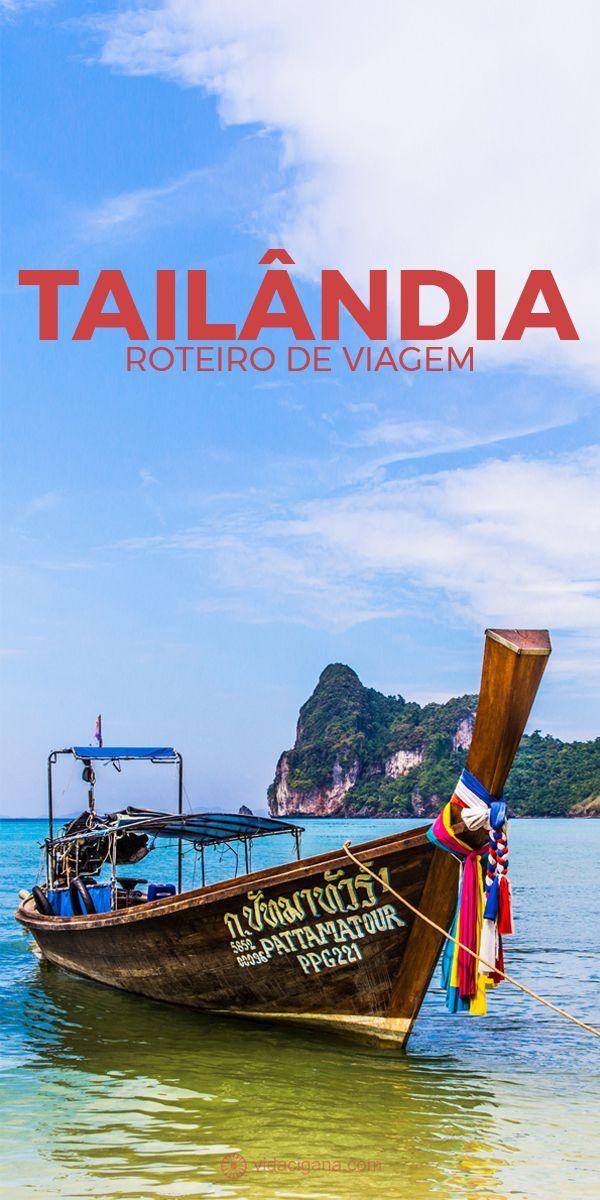 Como montar o roteiro de viagem ideal pela Tailândia. Qual Tailândia você quer incluir em seu roteiro? O que ver e fazer em cada região da Tailândia. As 4 principais regiões turísticas, que aparecem em todo roteiro de viagem pela Tailândia: Bangkok e arredores, Chiang Mai e o Norte da Tailândia, Phuket, Krabi, Ko Phi Phi e as ilhas do Mar de Andaman, Ko Samui, Ko Phangan, Ko Tao e as ilhas do Golfo da Tailândia. Um Guia de Viagens para montar seu roteiro pela Tailândia.Como combinar seu…