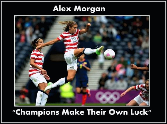 Alex Morgan Olympic & World Cup Soccer Photo by ArleyArtEmporium, $15.99
