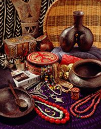 Museum for African Art Features many one-of-a-kind crafts, household and decorative objects. Items are produced exclusively for the Museum by artisans and craftspeople and imported directly from Africa. Purchases support local African artisans and museum programs