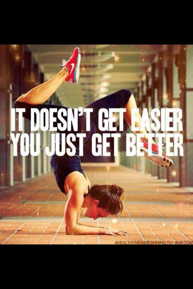 Fitness motivation. I want to be able to do this one day.