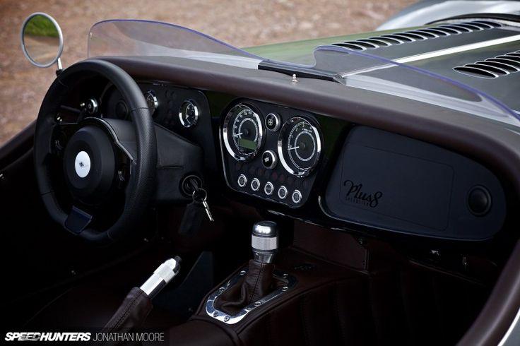 The Morgan Plus 8 Speedster Is Your OldSchool Steelie Dream