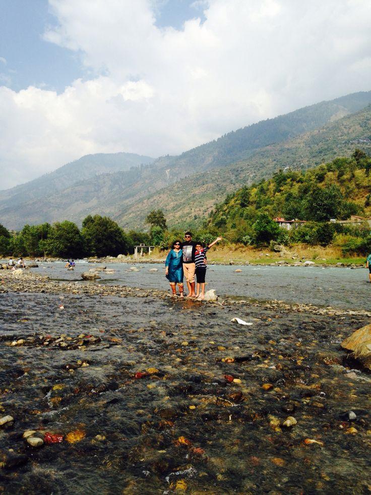 Manali , hill station at the himalayan ranges