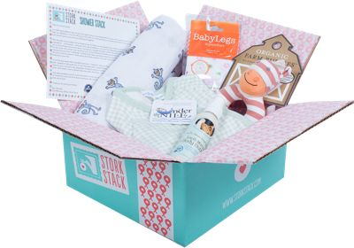 Gift subscription to Stork Stack - help Mom discover new products for herself and baby
