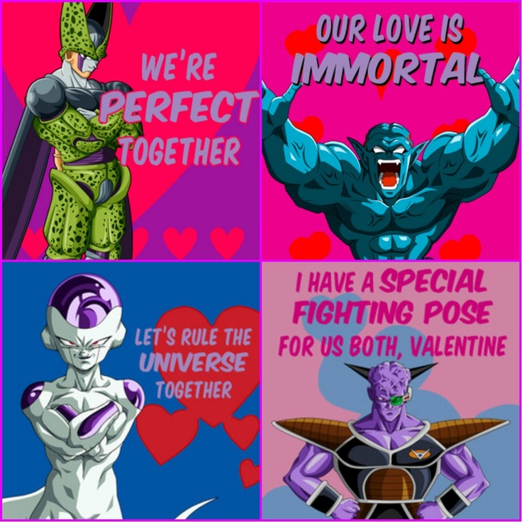 54 best images about Dbz – Dragon Valentine Cards