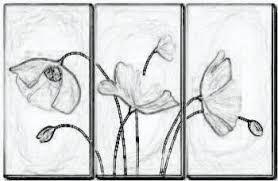 Resultado de imagen para cuadro de flores para colorear