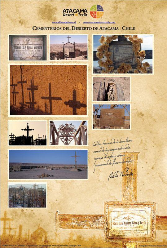Afiche Cementerios del Desierto $6.500
