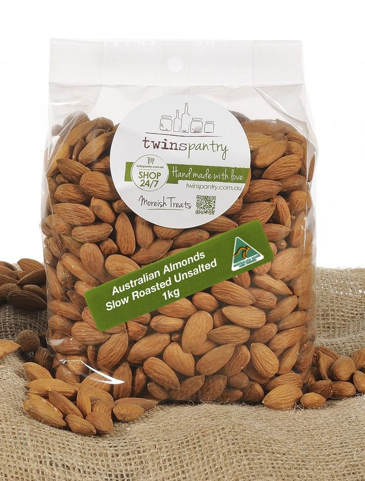 Australian Almonds Roasted Unsalted - Nuts and Seeds...........Roasted Unsalted Almonds 1KG  Our Australian-grown almonds, one of nature's sources for monounsaturated fat that can help control blood sugar levels and low cholesterol - are slowly roasted to perfection. Naturally delicious and rich in nutrients - ideal for a balanced diet!