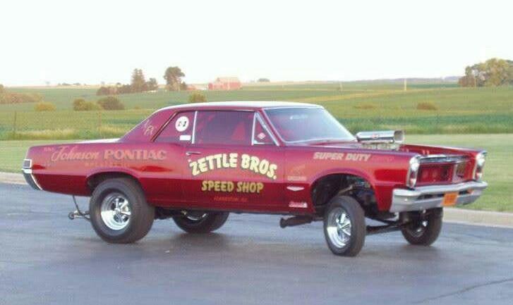 Bobby Car Vw >> Zettle Bros Pontiac gasser* | 60's Gassers/Drag Cars | Pinterest