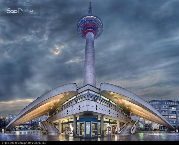 Alexanderplatz (Berlin, Germany) - stock photo