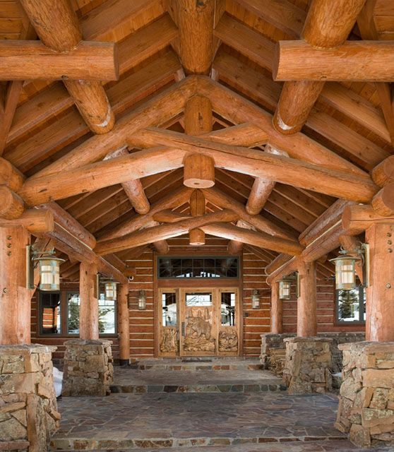 1000 images about beautiful structural decorative for Rocky mountain home builders