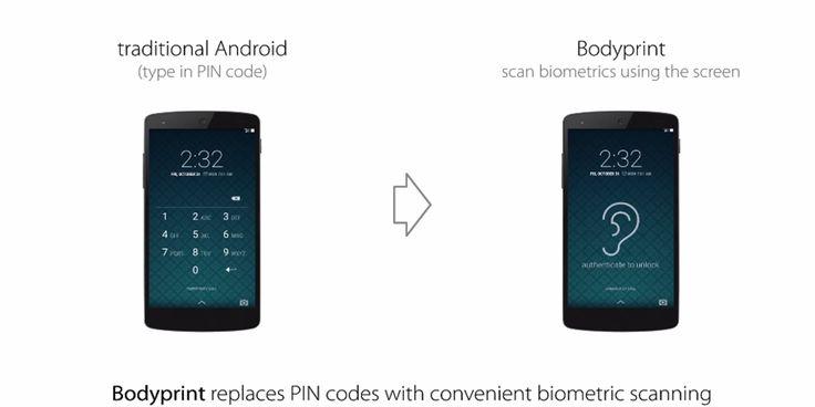 Akıllı telefonlar için yeni kimlik tanımlama teknolojisi: Bodyprint ►http://goo.gl/nZ7Lgv