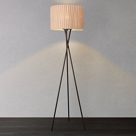Buy john lewis malia floor lamp online at johnlewis com for the living room