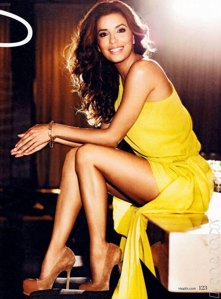 Eva Longoria Health Magazine January 2012