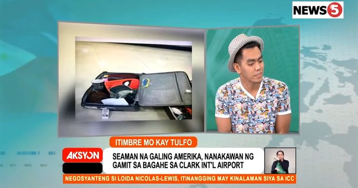 ANOTHER LUGGAGE THEFT INCIDENT IN CLARK INTERNATIONAL AIRPORT