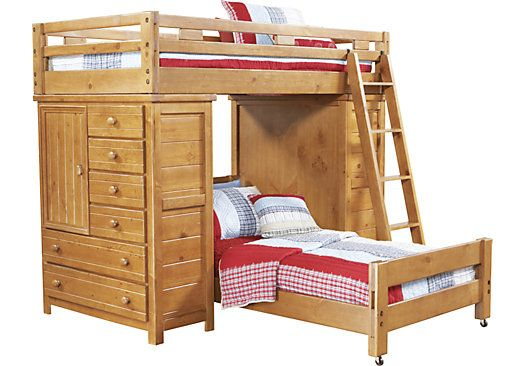 Shop For A Creekside Taffy Twin Twin Student Loft Bed At