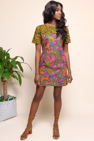 Shop Kuwala for the Chelsea Tunic (Guava) by suakoko betty