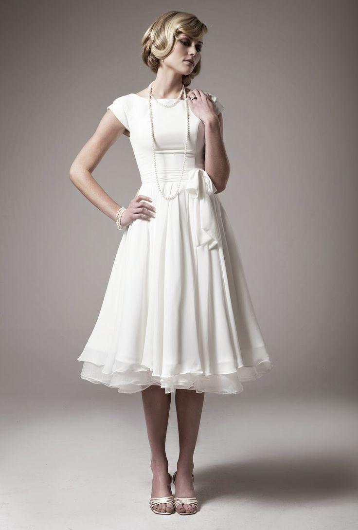 8 best kleider images on Pinterest | Short wedding dresses, Short ...