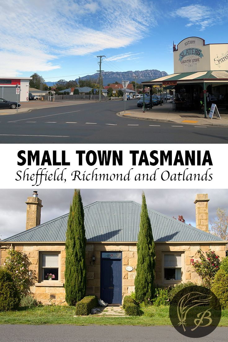 It's the smaller towns of Tasmania, Australia that tend to hold the greatest of delights. Here's what you can expect to find in Sheffield, Richmond and Oatlands. via @birdgehls