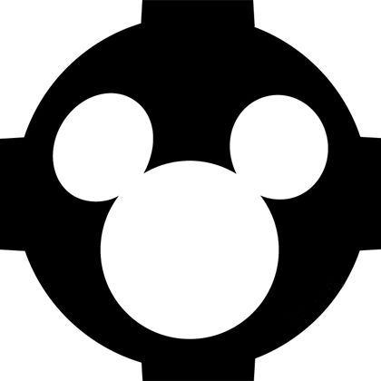 Mickey Mouse Flashlight Cover