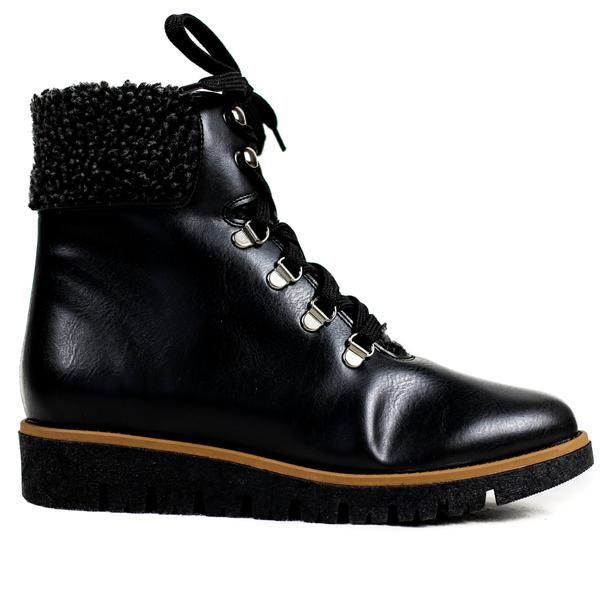 Aspen Hiker Boot in Black from Bhava | Boots, Vegan boots